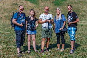 Fotografieren lernen - Kursteilnehmer mit mir