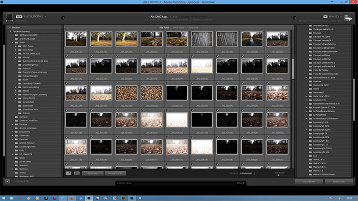 Meine Lieblings-Shortcuts in Lightroom
