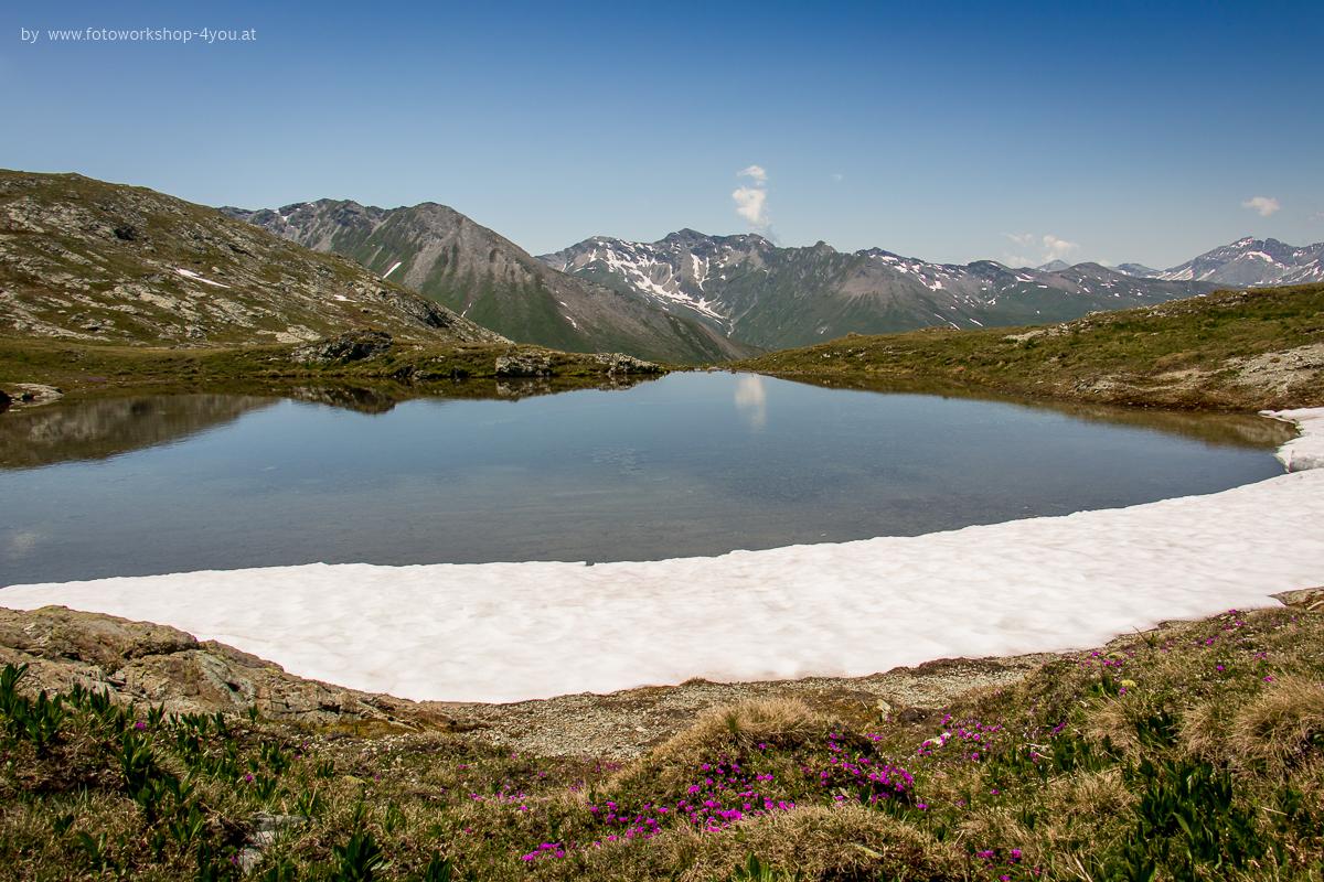 Gebirgssee - Fotokurse Martin Winkler