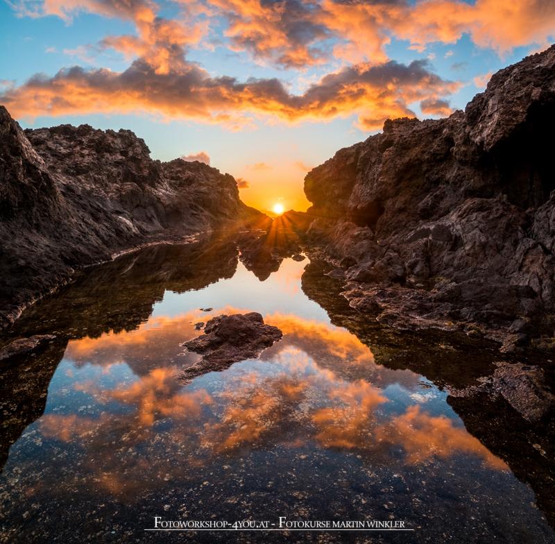 Sunrise La Palma - Fotokurse mit Martin Winkler