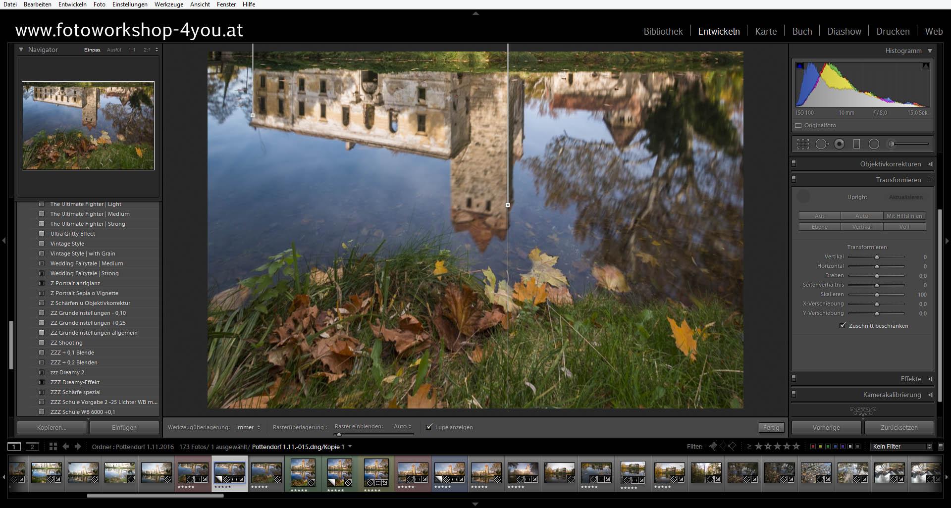 Pottendorf-Panorama - Fotokurse mit Martin Winkler
