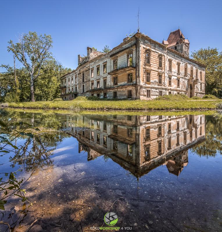 Panoramafotos im Schlosspark Pottendorf