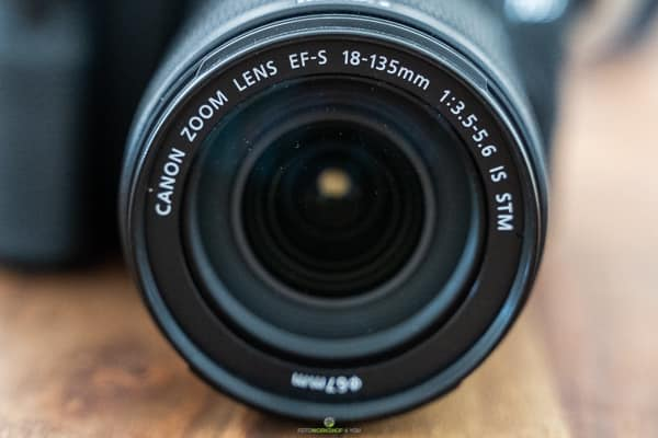 Tipps zum Kamerakauf - Beschriftung am Objektiv